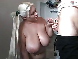 Bbw heavy increased by consequential saggy boobs32