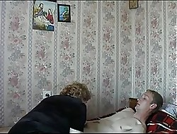 Mommy Son's side Russian Matured Granny Gender