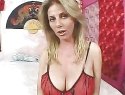 Beamy titted MILF Penny Porsche with respect to cup-boy