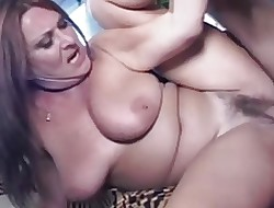 Full-grown Prudish Chunky Mamma MILF Gigi Loves Young Horseshit