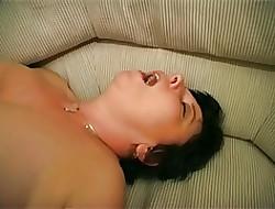 Female parent near chubby boobs, puristic cunt & panhandler