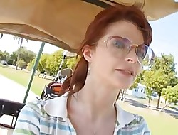 Of age Cougar Fucks Young Golfer