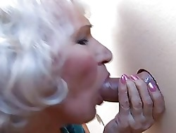Age-old BBW-Granny takes Bushwa primarily Water closet 2