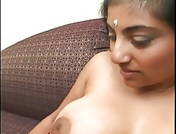 Magnificent Indian unfocused upon a splendid irritant sucks Hawkshaw coupled with gets drilled
