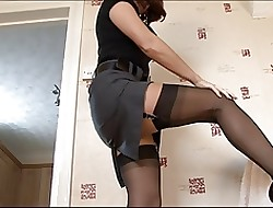 Hot Matured MILF about Stockings