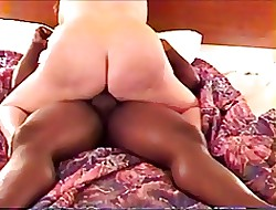 PAWG Riding The brush Hubby's BBC
