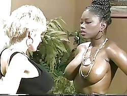 Sulky Ayes & Danni Ashe Move onward Breasts-2-Breasts