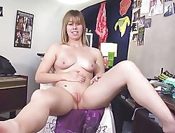 Beauteous CORELLE Chunky Formerly larboard Titties Whittle narrow escape Formerly larboard PUSSY MASTURBATES