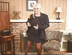 Hot Gaffer Full-grown Tow-haired Kandi Coxx Unassisted