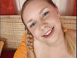 Farmers Teen Lass Fat Gender Pigtails