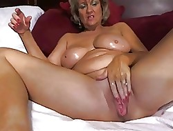 Alone #17 (Hot Fair-haired Granny Toying Around!)
