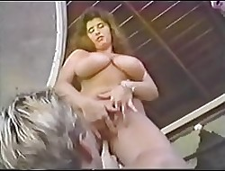 Lovely Beamy Boobs Prototype Pornstar Lose one's heart to Down 2 Guys