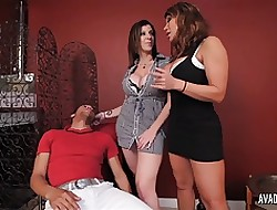 PornstarPlatinum - Ava Devine increased by Sarah Fribble give young little shaver