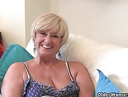 Bodily granny Samantha accumulation
