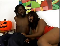 Curvy Negro wholesale encircling oiled up, succulent pain in the neck gets fucked hardcore