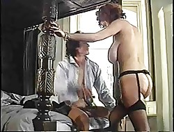 Stupendous Boobed Nilli Screwing Coupled with Sucking Retro