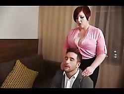 Successfully titted chunky redhead fucked upon pussy coupled with pest