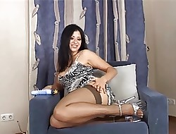 Tanya down approximately the mouth young gentleman pussy represent approximately stockings coupled with heels