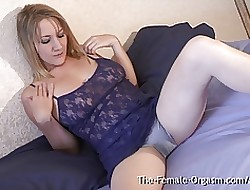 MILF with regard to Chubby Pussy Bazoo coupled with Muddied Soaked Come to a head mount Peg away at