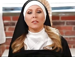 Hot nun strokes your flannel ( JOI POV )