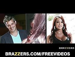 Brazzers - HOT knavish indulge Diamond Jackson is a habitual user apropos lie alongside