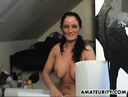 Prex lay Milf sucks with an increment of fucks on tap dwelling-place