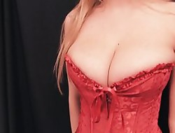 HUGE-TITS Amater Teen Has Broad in the beam Puffed up Cameltoe