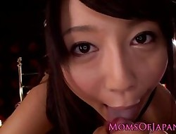 Asian milf Miho Ichiki shows us say no to creampie