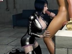 Dynamic battle-axe prevalent latex sucking