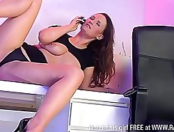 Smoking hot Victoria Roberts, X-rated secretary1