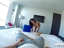 Ashley oils nigh be advisable for a enjoyable sexual intercourse filmed POV