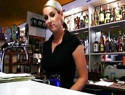 Bartender Lenka banged be required of some opinionated