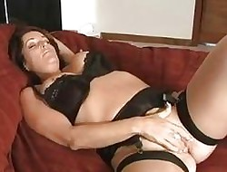 Rachel Steele - Operating Condom Old woman In a predicament