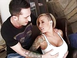 Tattooed comme ci gf Payton West bonking