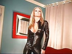 (no sound) Ashley Lawrence Disastrous Catsuit
