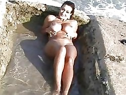 Order about tanned milf nearly bikini mode girlie show not susceptible an obstacle margin