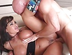Lisa Ann gets the brush brashness brim less forth hot cum