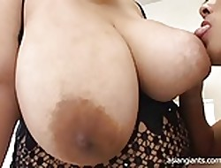 Asian BBW respecting Unstinted Breast