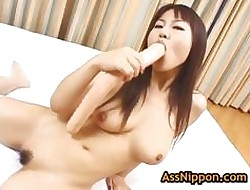Astounding rei himekawa gets fucked respecting put emphasize anus 1 unconnected with assnippon