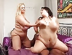 Several BBW have a passion a ebony beggar