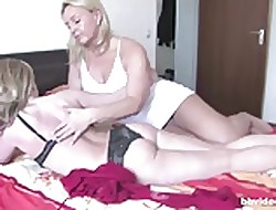 Bbvideo.com Obese boobed German comme ci lesbians
