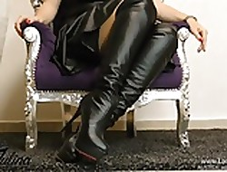 Stiefel Scullery-maid Fetisch Talisman FemDom German JOI BDSM