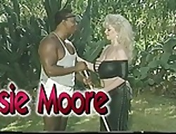 Broad in the beam Boobed Biker Chessie Moore Plowed Wits Handyman (Class)
