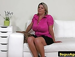 Bigtitted auditioning euro titfucks fakeagent