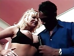Interracial be proper of UK milf connected with anal