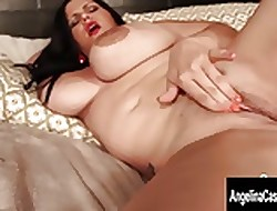 Heavy Mamma Cuban Angelina Castro Fingers Their way Soiled Pussy!