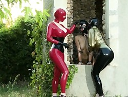 Latex Lucy coupled with Marica Hase coupled with Samantha Bentley