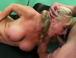 horn-mad anal fucked granny