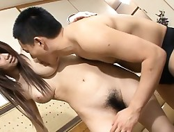 Vagina be incumbent on fetching hottie is drilled