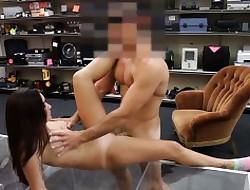 Hot heavy titties slattern fucked relating to a catch pawnshop